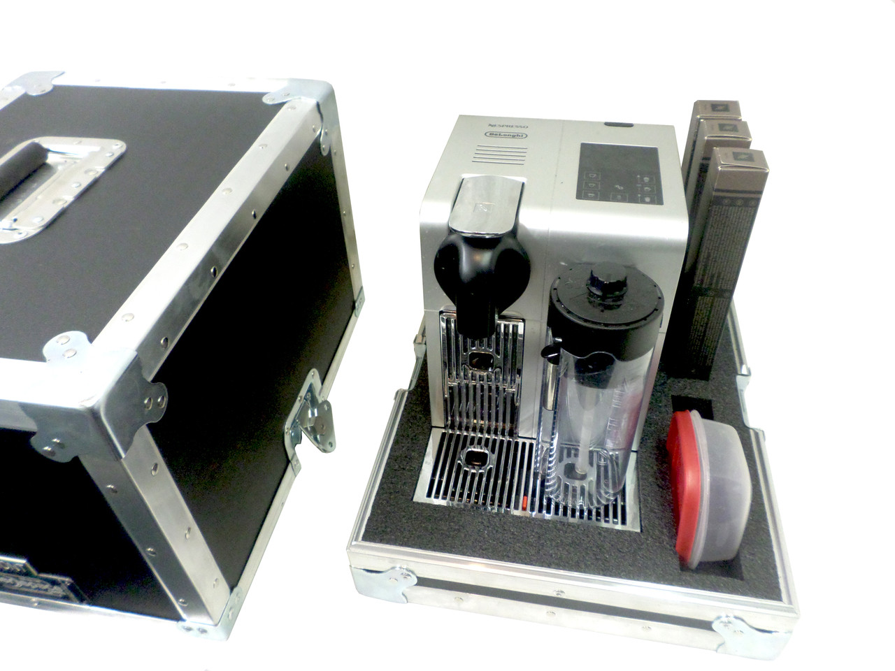 Nespresso Delonghi Lattissima Pro with Accessories