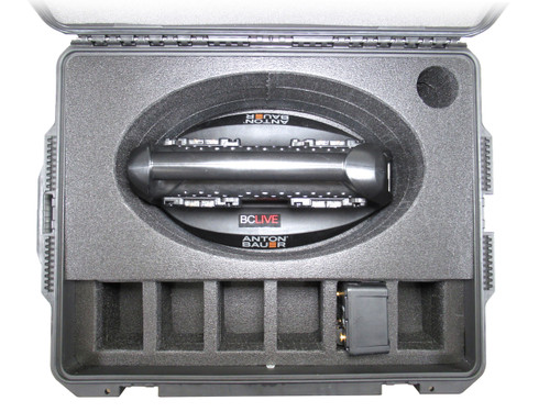 Anton/Bauer Performance Quad Charger and (6) Battery Transport Case