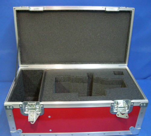 Angenieux 25-250mm HR T3.5 Zoom Lens Custom ATA Shipping Case - Interior View Lid