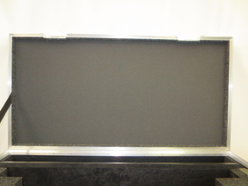 "Sony PVM 2541 25"" Monitor, Shade, Accessories, Wheels and Pull out Handle."