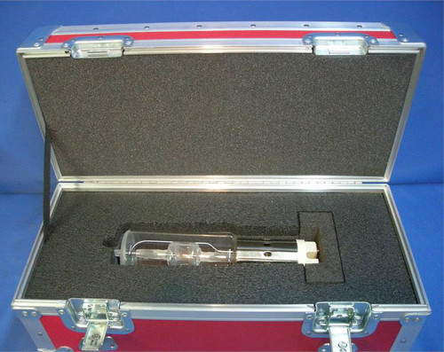 6K Light Bulb Custom ATA Shipping Case - Interior View Loaded