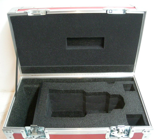 Red One 18-85MM Lens Custom ATA Shipping Case - Interior View Lid
