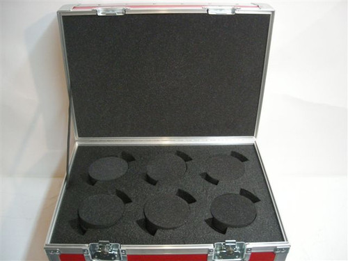 Cooke S4 Lens (6 Position) Custom ATA Shipping Case - Interior View