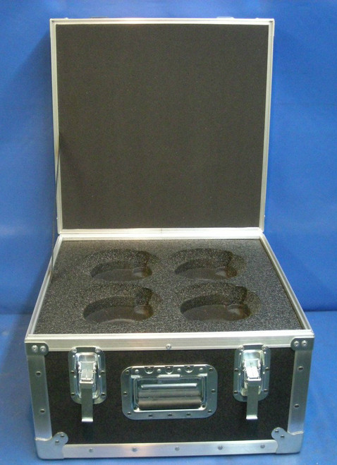 Arri Master Prime Lens (4 Position) Custom ATA Shipping Case - Interior View