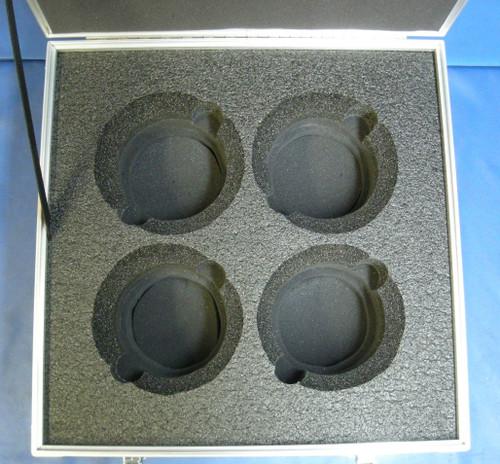 Arri Master Prime Lens (4 Position) Custom ATA Shipping Case - Interior View Base