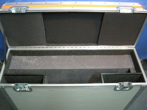 """Apple Cinema HD Display 30"""" with Accessories Custom ATA Shipping Case - Interior View"""