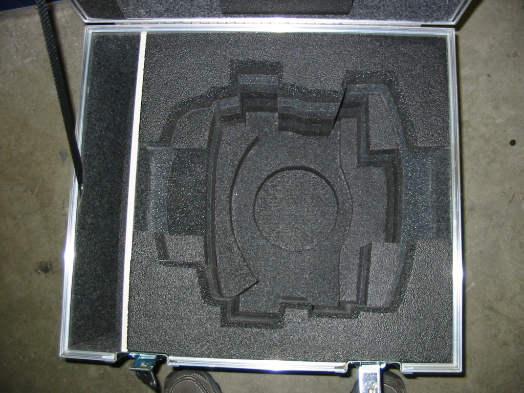 Vinten Vector 700 Head or Vinten Vector 75 Fluid  Custom ATA Shipping Case