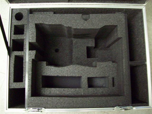 Alexa Camera ATA Shipping Case -- Interior View Base