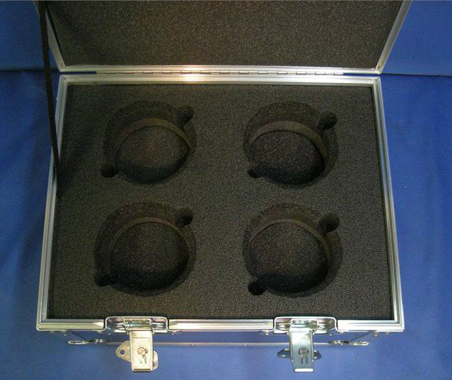 Arri Ultra Prime (4 Position) Custom ATA Shipping Case - Interior View Base