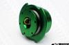 NRG Quick Release Kit Gen 2.5  - Green Body/Titanium Chrome Ring