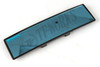 Napolex Broadway Wide Angle Rear View Mirror - 270mm Length - Black - Blue Convex