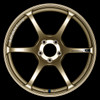 Advan RGIII - Racing Gold Metallic & Racing Gloss Black - 4x100.0 - 63mm Bore - 17x7.0 +42 (Euro Sizing)