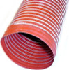 "SCAT - High Temp Orange Single-ply Silicone Brake Duct Hose 3"" Diameter"