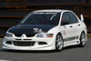 Charge Speed Type-1 Front Bumper: FRP - Mitsubishi EVO 8