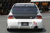 Charge Speed Rear Bumper: FRP - Mitsubishi EVO 8/9