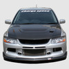 Charge Speed Bottom Line Front Lip: FRP - Mitsubishi EVO 9