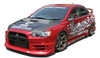 Charge Speed Half Type-1 Front Lip: FRP - Mitsubishi EVO 10