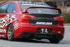Charge Speed Type-1 Rear Bumper: FRP - Mitsubishi EVO 10