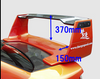 Charge Speed Full Composite 3D Wing w/ 3D Carbon Top - Subaru WRX GD