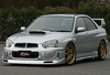 Charge Speed FRP Front Lip - Subaru WRX GD
