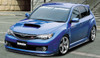Charge Speed Bottom Line Type-2 Carbon Front Lip - Subaru WRX STi GR