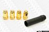 Gorilla Thin Small Diameter Gold Lug Nuts 12x1.50