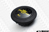 Personal Neo Grinta Steering Wheel 350mm Black Leather with Yellow Stitching