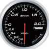 Defi Advance BF 60mm Boost Gauge White 2 Bar
