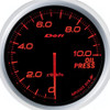Defi Advance BF 60mm Oil Pressure Gauge Red