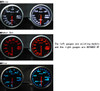 Defi Advance BF 60mm Water Temp Gauge Red