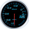 Defi Advance BF 60mm Intake Manifold Pressure Gauge Blue