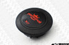 Personal Grinta Steering Wheel 330mm Black Leather with Red Stitching