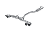 Akrapovic Slip-On Line Titsnium Exhaust System - Nissan GT-R R35