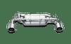 Akrapovic Slip-On Line Stainless Steel Exhaust System - Nissan 370Z Z34