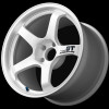 Advan GT 18x9.0 - Semi-Gloss Black / Racing White