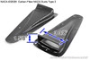 APR Universal Carbon Fiber Air Ducts (NACA Duct) Type 2 - Pair