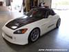 APR Fiberglass Front Bumper with Air Dam Incorporated Honda S2000 AP2 2004+