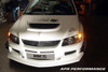APR FRP Mitsubishi Evolution Evo 8 9 Front Bumper with Air Dam Lip