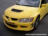 APR Carbon Fiber Front Bumper Canards Mitsubishi Evo 8