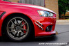 APR Carbon Fiber Front Bumper Canards Mitsubishi Evo X