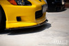 APR Carbon Fiber Front Wind Splitter Honda S2000 AP1 With Factory Lip
