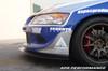 APR Carbon Fiber Front Wind Splitter Mitsubishi Evo 8