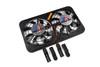 Flex-a-Lite Dual 12 1/8 inch Lo-Profile Fans