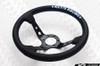 KEY'S RACING Steering Wheel - Deep Type 330mm Leather