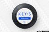 KEY'S RACING D-Shape Semi-Deep Steering Wheel (345x320mm/Leather)