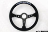 KEY'S RACING Deep Type Steering Wheel (350mm/Suede)