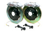 Brembo GT Silver Front Drilled Brake Kit 355x32mm - 07-08 Infiniti G35 / 08-13 G37, 09-16 Nissan 370Z