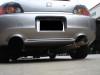 "Megan Racing Drift Spec 3"" Cat-back System - 06-08 Honda S2000"