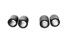 Akrapovic Tail pipe set (Carbon) - 11-15 BMW M5 (F10)
