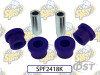 Superpro Front Lower Control Arm Bushings 15mm - Inner Front Position - 05-15 Mitsubishi EVO 9/10